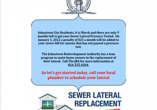 Sewer Compliance Flyer